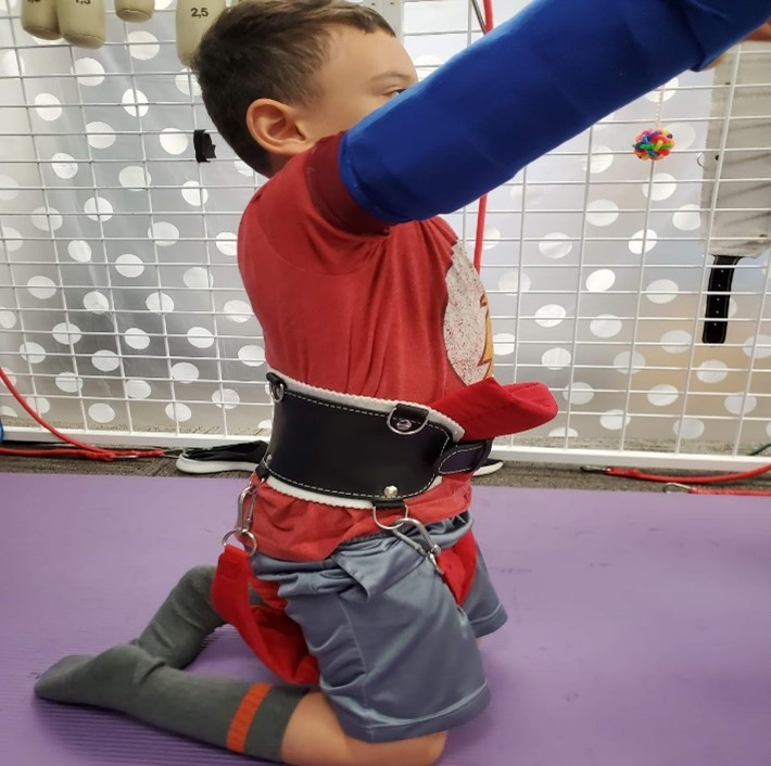 Utilizing muscle strengthening to provide functional indolence to child with Cerebral Palsy